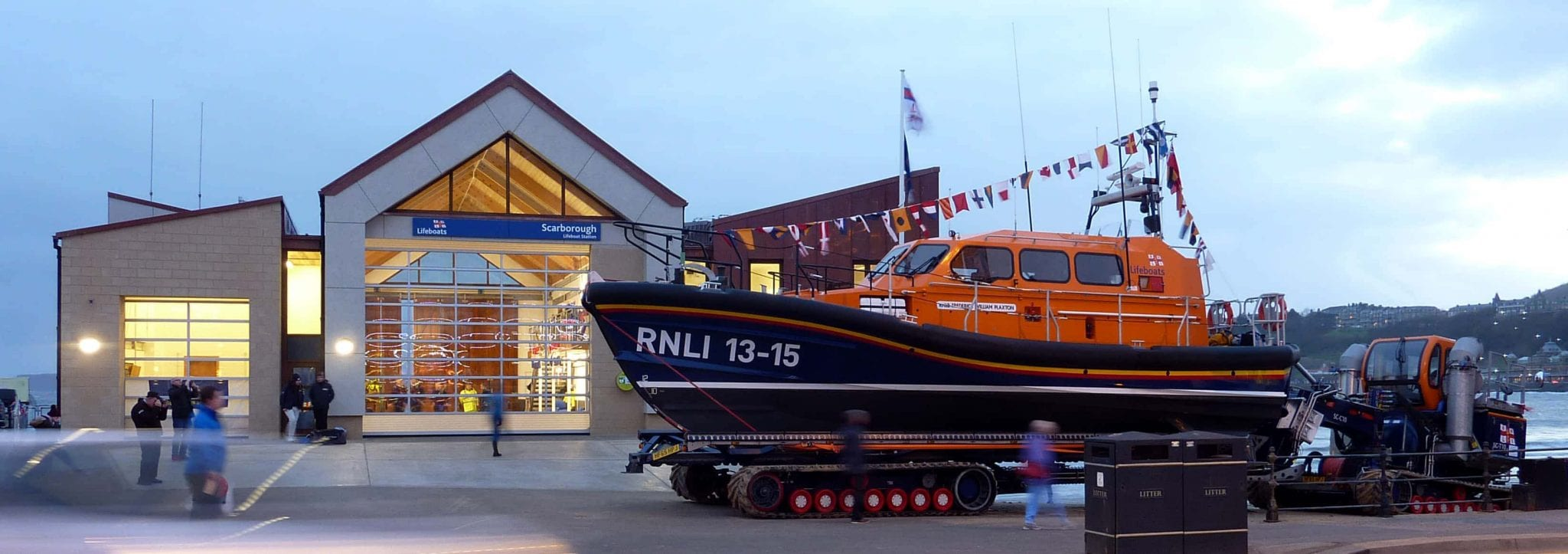 Yeoman Rainguard Stands up to the Elements at New RNLI Station
