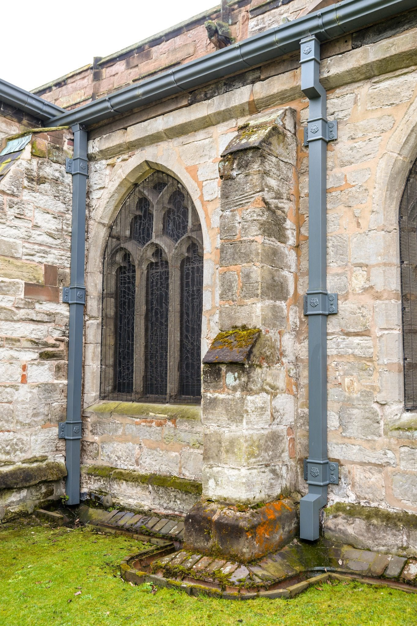 Ruling in Favour of GRP Rainwater Goods on 600 Year Old Church