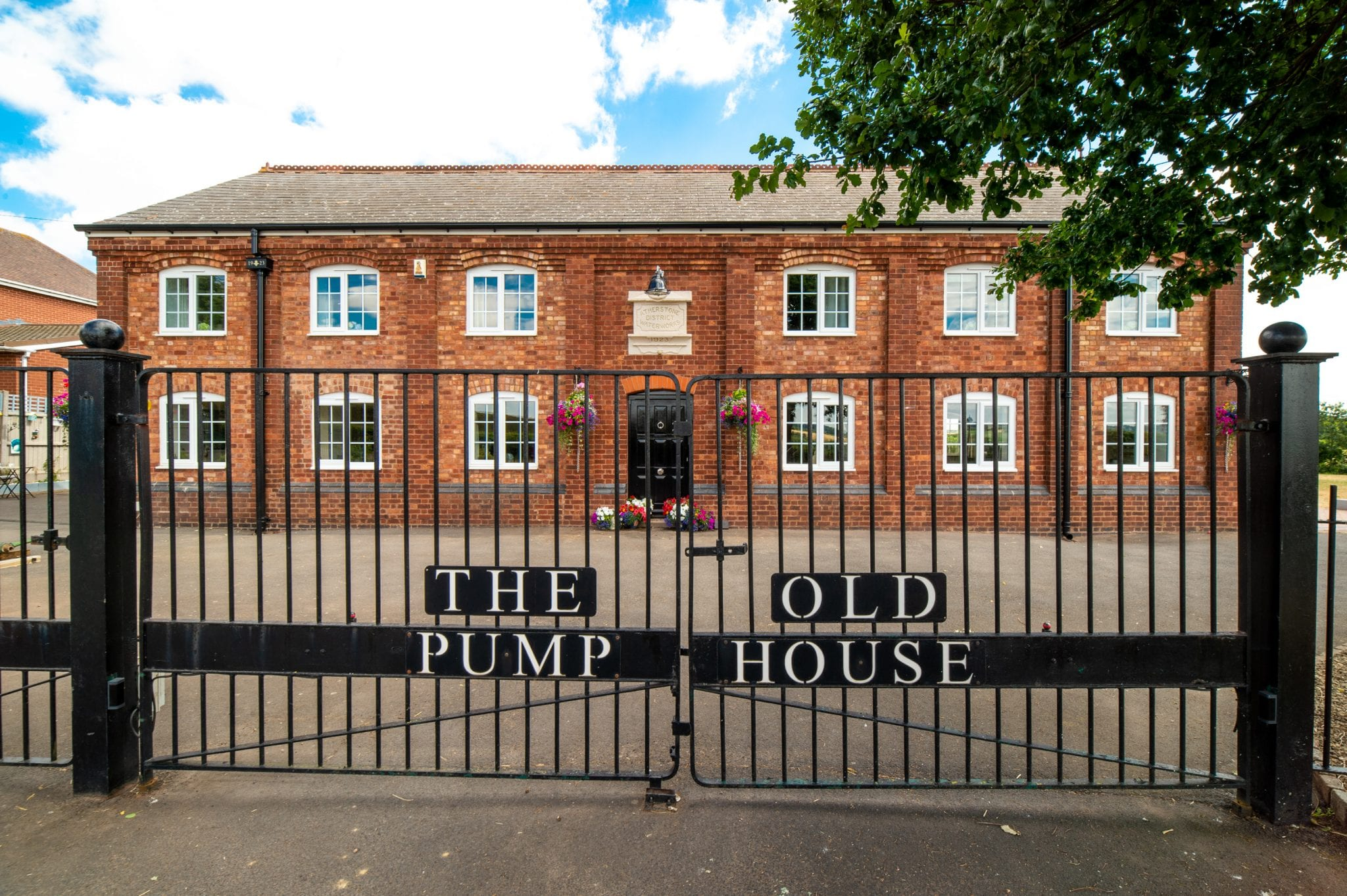 Old Pump House Retains Industrial Heritage with the help of Yeoman Rainguard